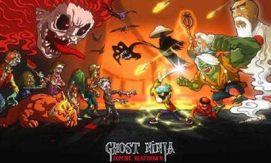 Ghost Ninja: Zombie Beatdown